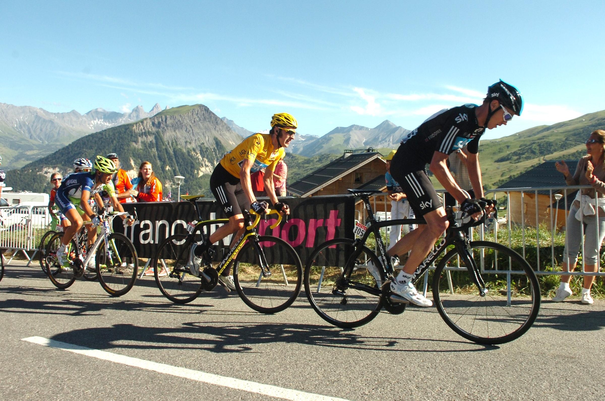 Chris Froome, Bradley Wiggins, Tour de France 2012, stage 11, Albertville - La Toussuire, pic: ©Stefano Sirotti
