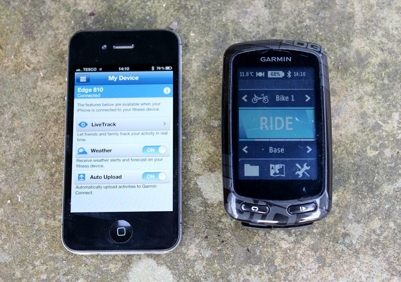 Garmin Edge 810 GPS computer (Pic: George Scott/Factory Media)