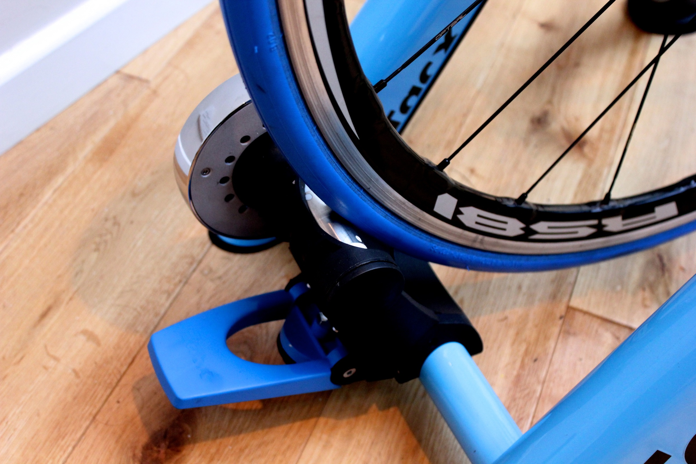 Tacx Blue Motion turbo trainer, roller, pic: Timothy John, ©Factory Media