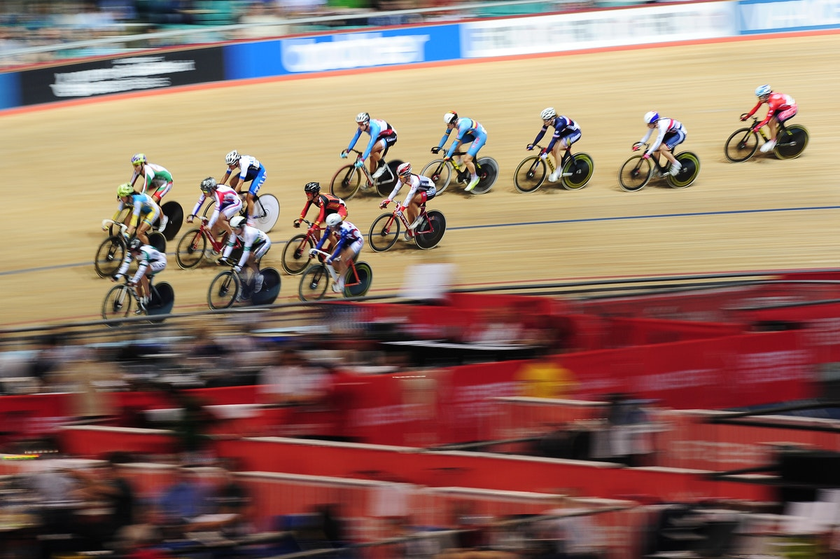 Manchester, National Cycling Centre, omnium, track, GV, general view, pic: ALex Broadway/SWpix
