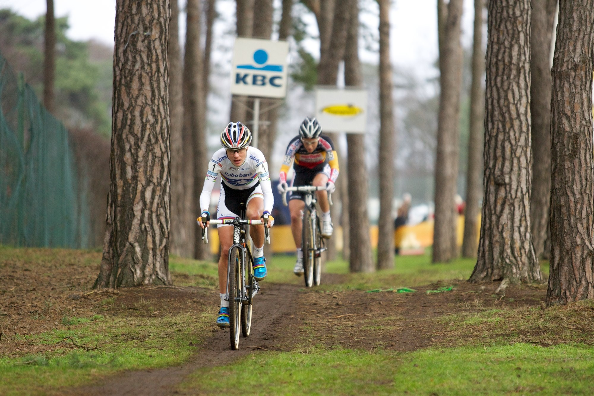 Marianne Vos, Netherlands, Rabobank, cyclo-cross, World Cup, 2013/14, Zolder, pic: Balint Hamvas