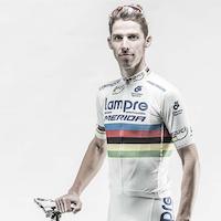 Rui Costa, world champion, Lampre-Merida, 2014, rainbow stripes
