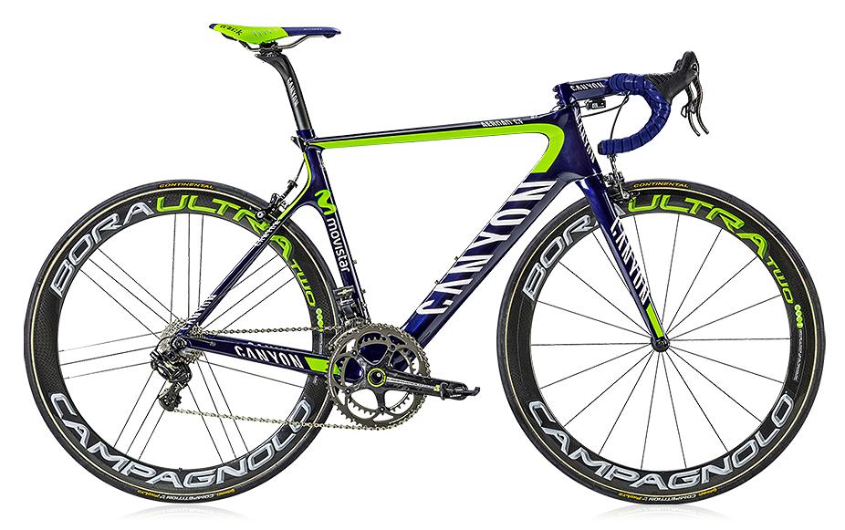 Canyon Aeroad, Movistar team bike