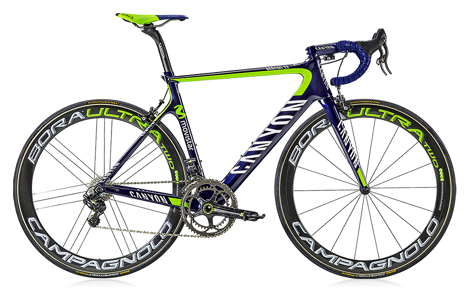 Canyon Aeroad, Movistar team bike