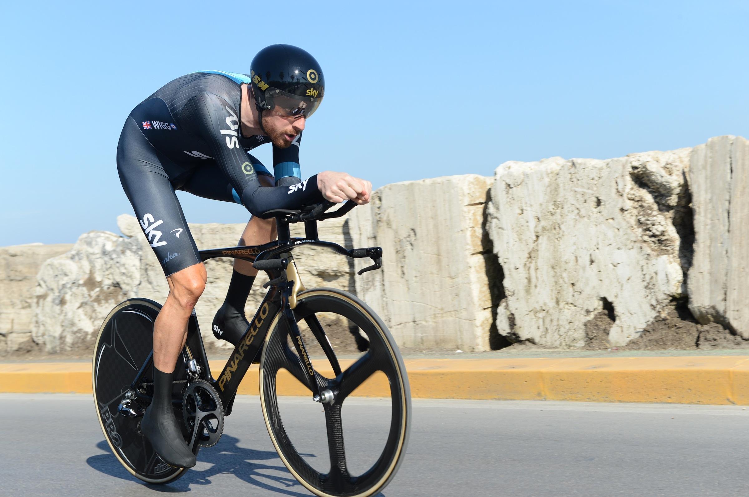Bradley Wiggins, Tirreno-Adriatico 2014, stage seven, pic: ©Sirotti