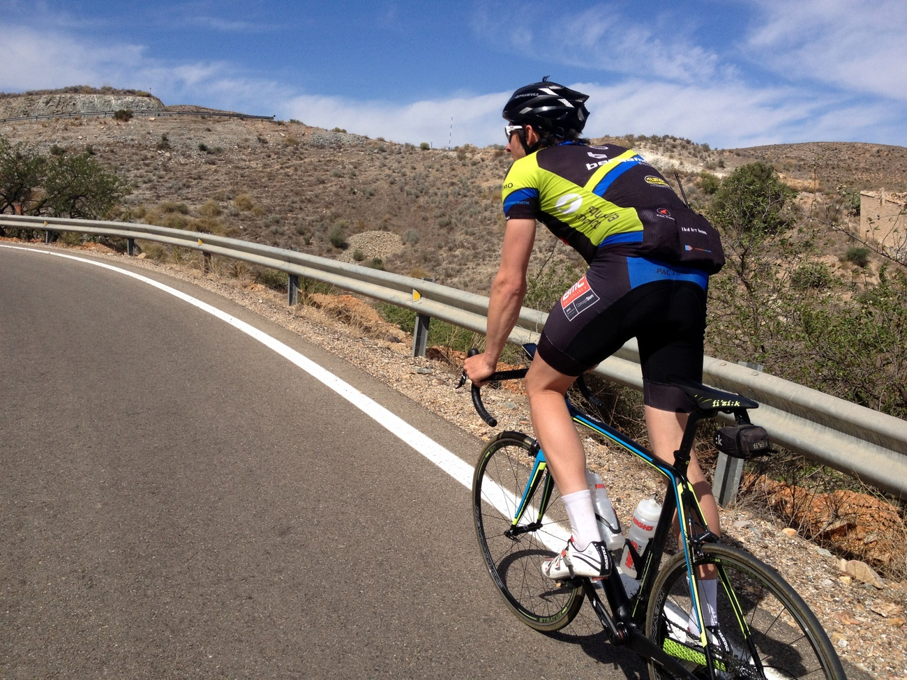 Training camp, Andalucia, mountain, climb, climbing (Pic: George Scott/Factory Media)