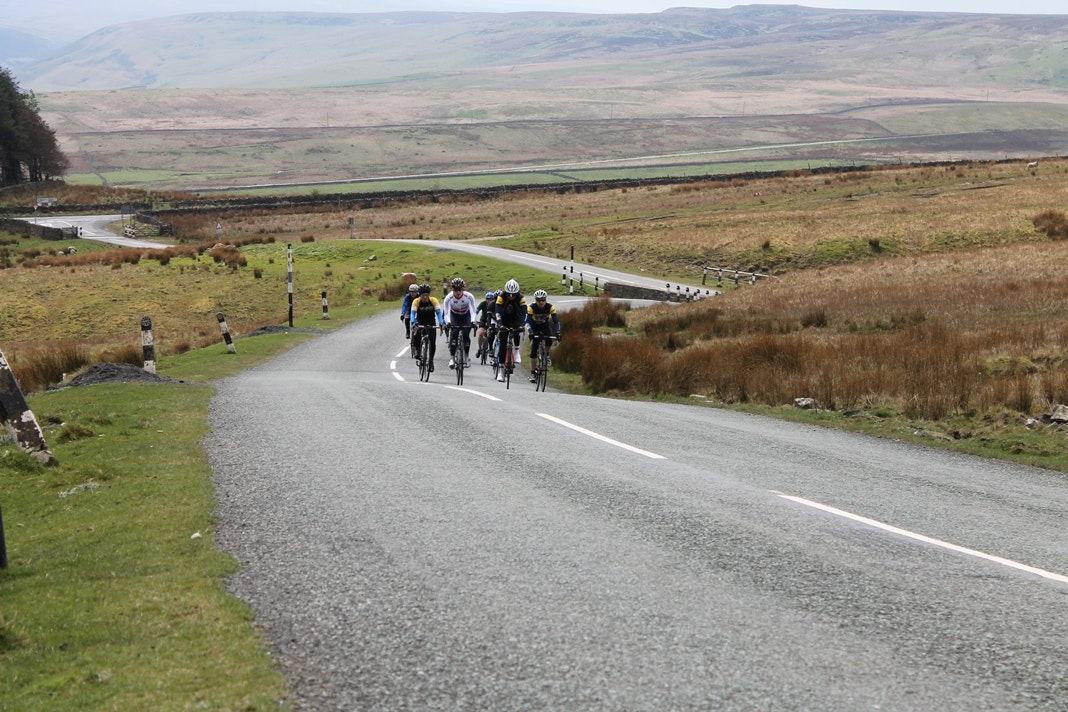 Etape Pennines, training ride, sportive, 2014, pic: Colin Henrys/Factory Media