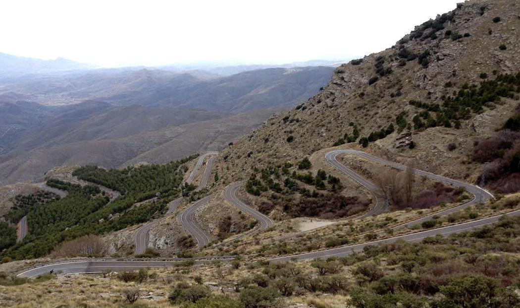 Training camp 2014, Andalucia, Alto de Velefique, mountains, climb, climbing, hairpins