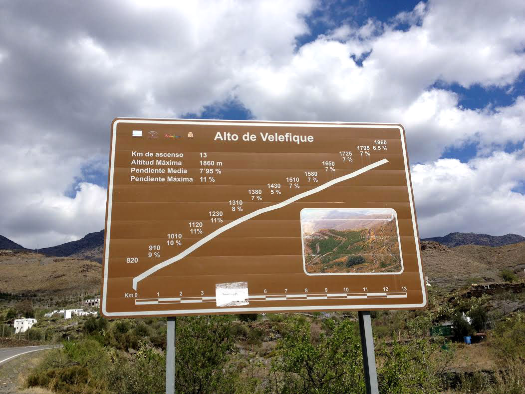 Training camp 2014, Andalucia, Alto de Velefique, mountains, climb, climbing