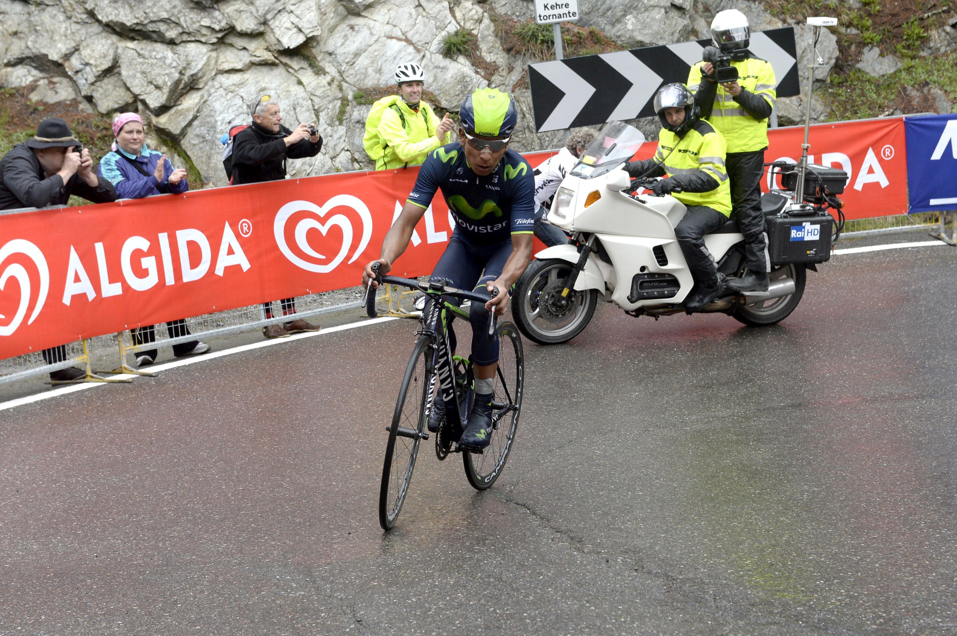 Nairo Quintana, Giro d'Italia, 2014, Movistar, pic: Sirotti