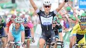 Matteo Trentin, sprint, Omega Pharma-Quickstep, 2014, Tour de Suisse, pic: Sirotti