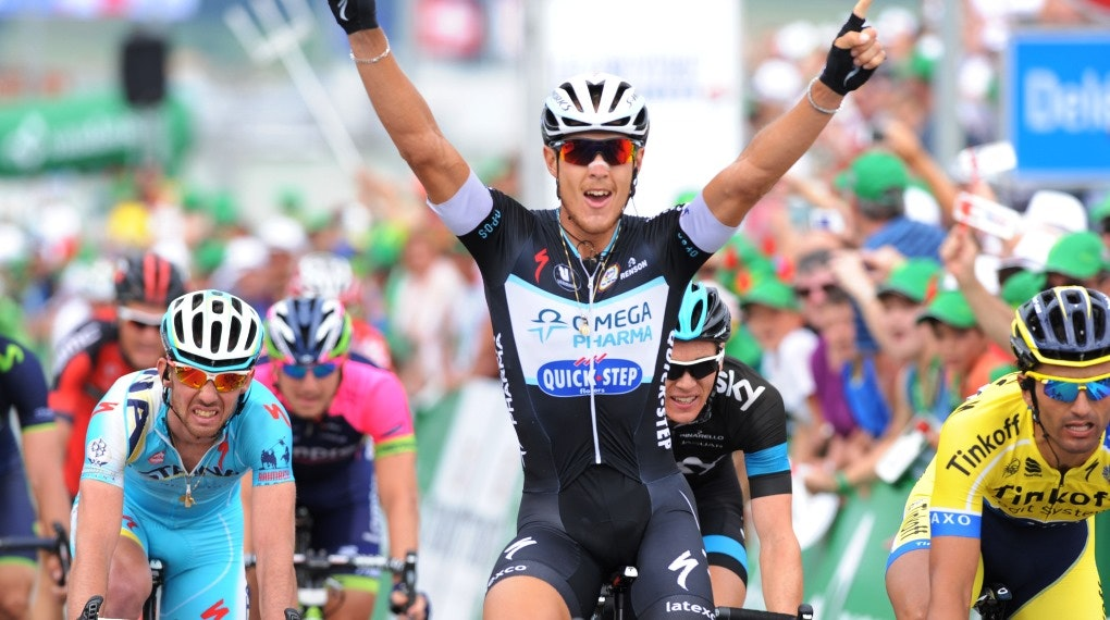 Matteo Trentin, Omega Pharma-Quickstep, 2014, Tour de Suisse, stage six, pic: Sirotti