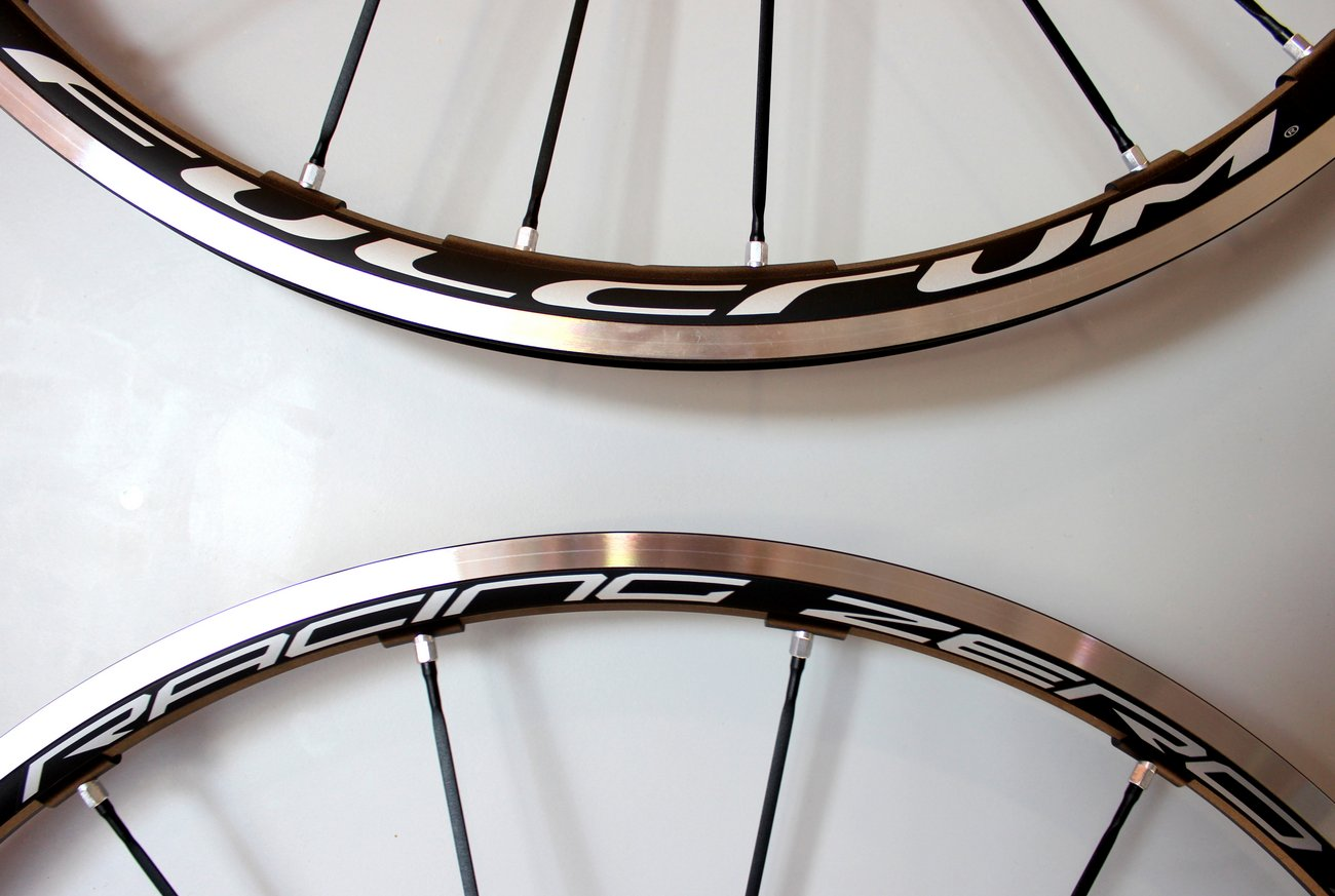 Fulcrum Racing Zero wheelset (Pic: George Scott/Factory Media)