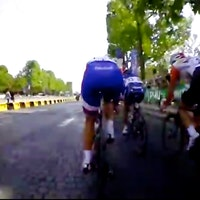 Marianne Vos, screenshot, La Course video, used with permission: NMG Productions