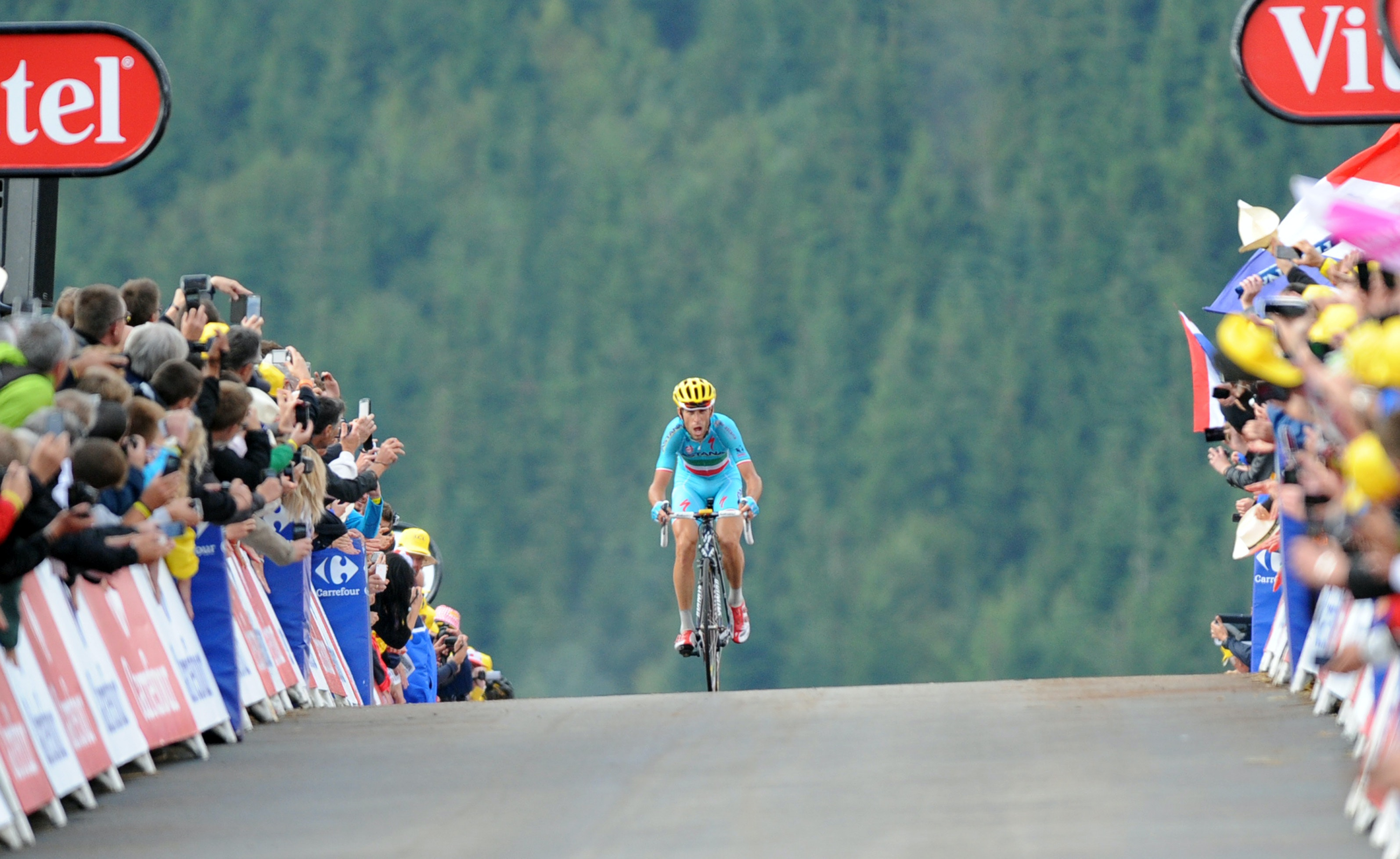 Vincenzo Nibali, Astana, Tour de France, 2014, stage ten, pic: Sirotti