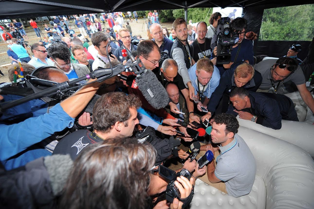 Mark Cavendish, Omega Pharma-QuickStep, Tour de France 2014, rest day (Pic: OPQS/Tim De Waele)