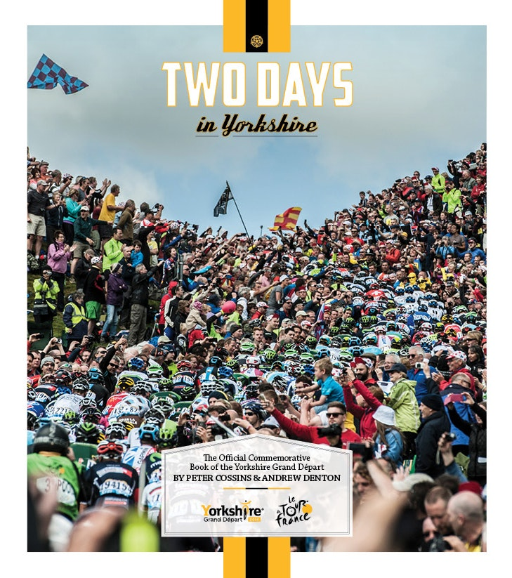 Two Days in Yorkshire book, Tour de France 2014
