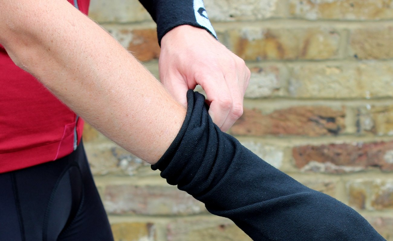 Isadore merino arm warmers (Pic: Mark Bishop/Factory Media)