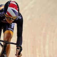 Laura Trott, Revolution Series, Wiggle-Honda, track, pic: Luke Webber/Revolution Series