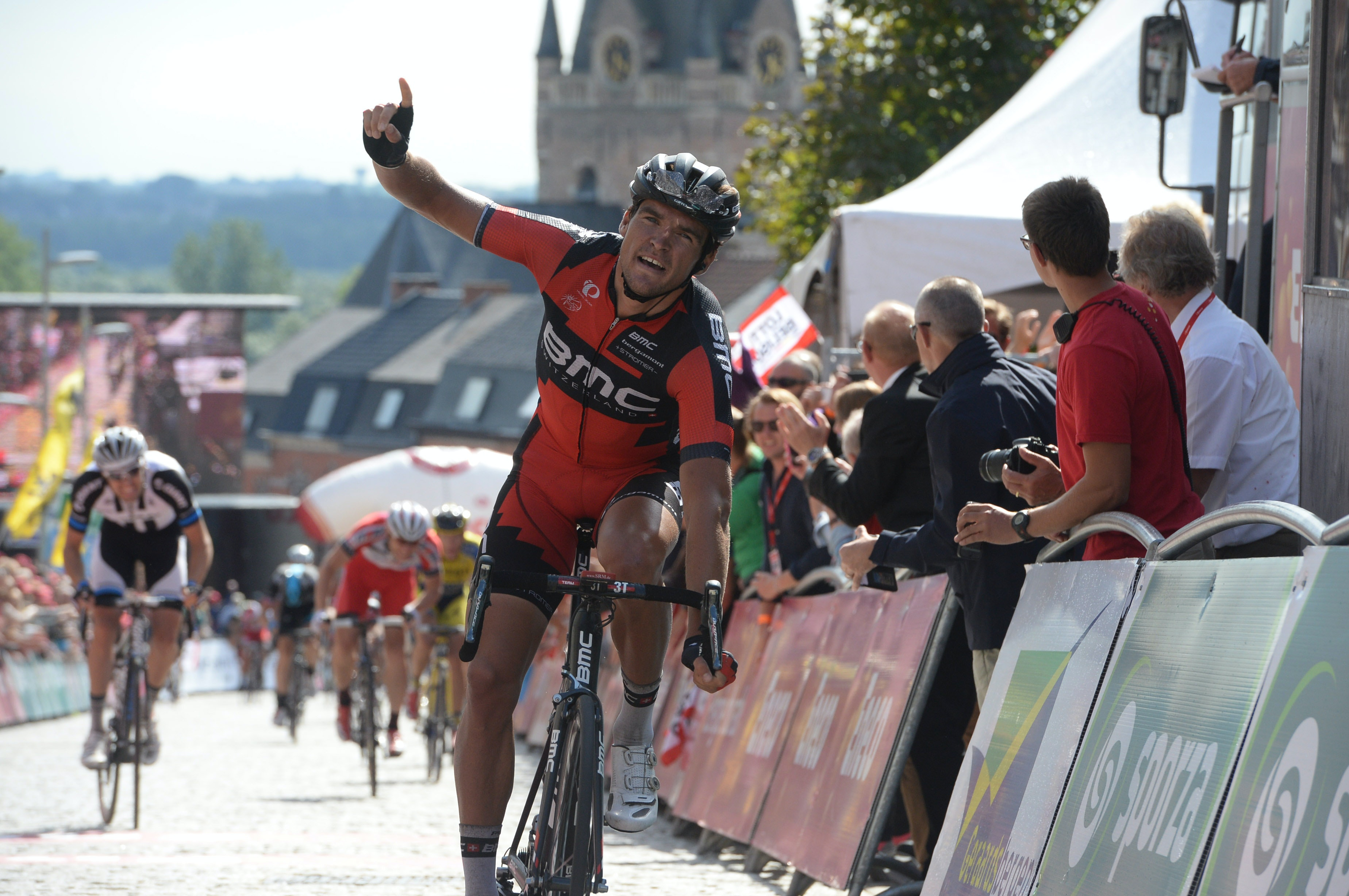 Greg Van Avermaet, BMC Racing, Eneco Tour 2014 (Pic: Sirotti)