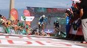 Fabio Aru, Chris Froome, Vuelta a Espana, 2014, stage 18, pic: Sirotti