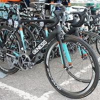 Pro bike, Genesis Zero, Tom Stewart, Tour of Britain, Madison Genesis, pic: Colin Henrys/Factory Media