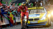 Vuelta a Espana, stage 21, time trial, Alberto Contador (Pic: Sirotti)