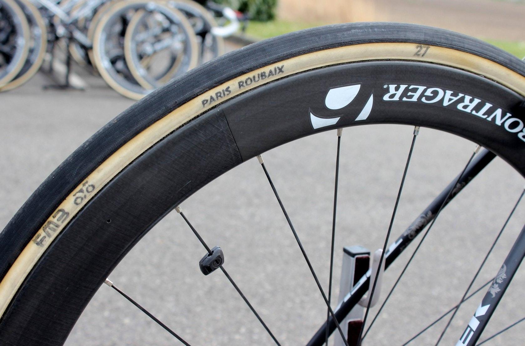 Fabian Cancellara, Trek Domane Classics Edition, pro bike, pic: George Scott/Factory Media