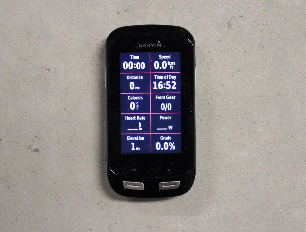 Garmin Edge 1000 GPS cycling computer (Pic: George Scott/Factory Media)