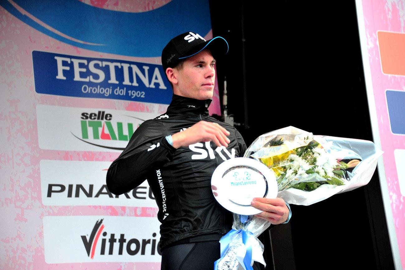 Ben Swift, Milan-San Remo, 2014, pic: Sirotti