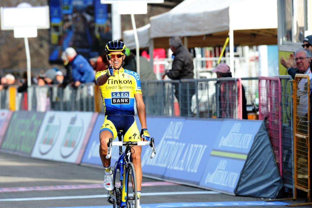 Alberto Contador, Tinkoff-Saxo, pic: Sirotti