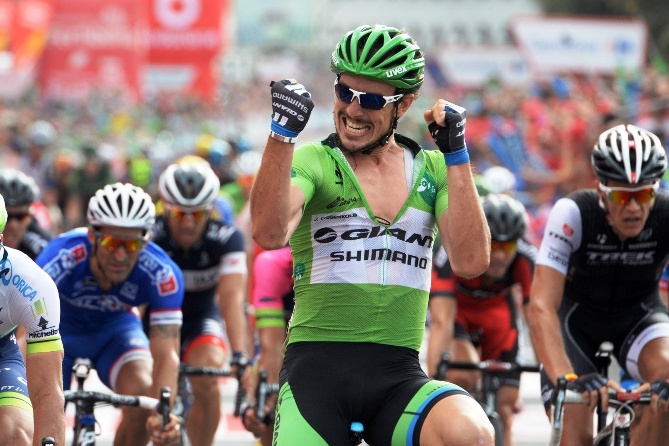 John Degenkolb, Giant-Shimano, green jersey, Vuelta a Espana, 2014, pic: Sirotti