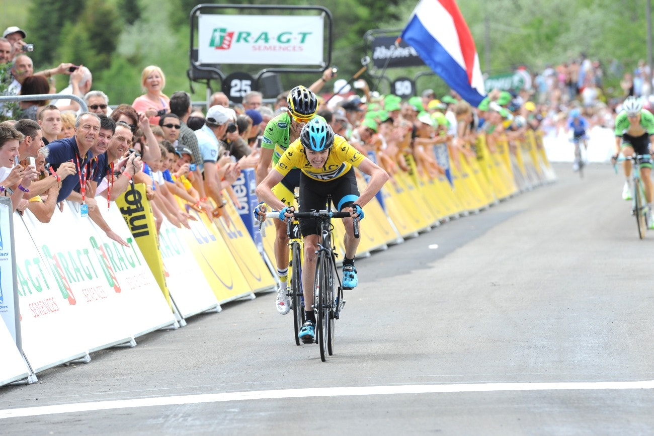 Chris Froome, 2014, pic: Sirotti