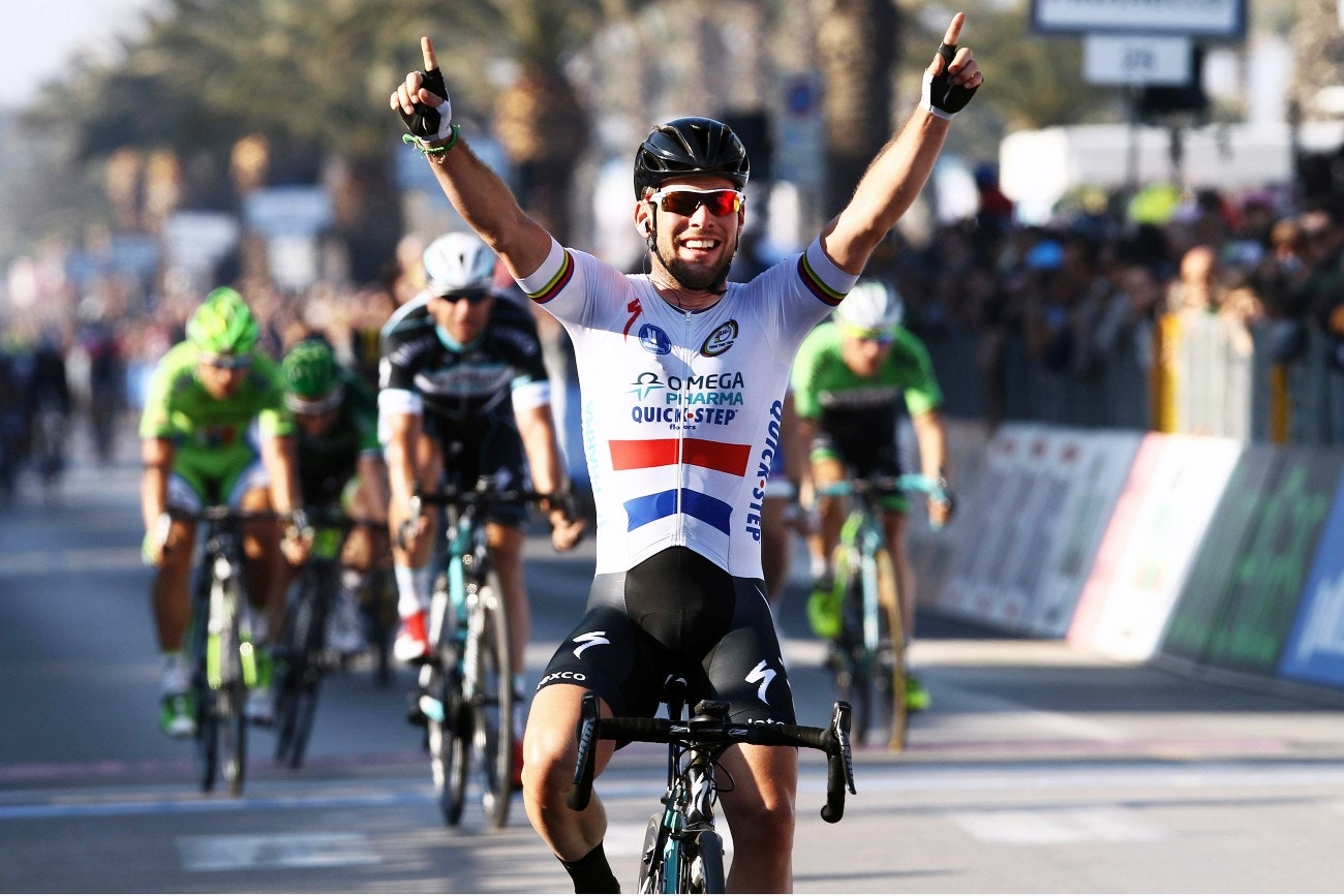 Mark Cavendish, Tirreno-Adriatico, 2014, pic: Sirotti