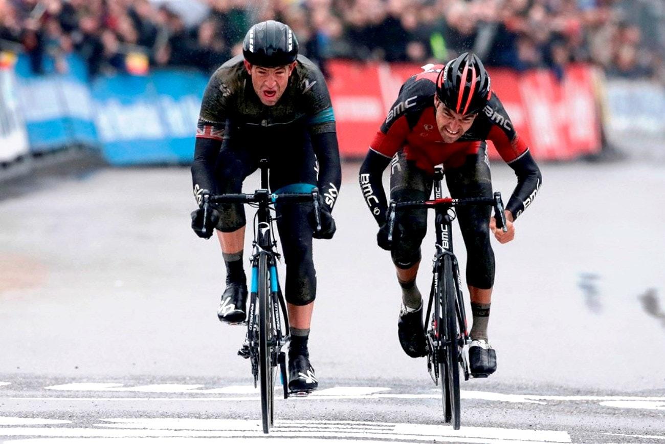 Ian Stannard, Omloop het Nieuwsblad, Team Sky, pic: Sirotti