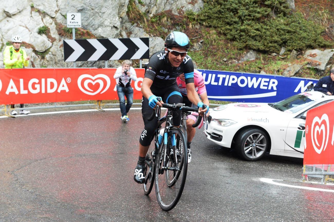 Sebastian Henao, Team Sky, 2014, pic: Sirotti