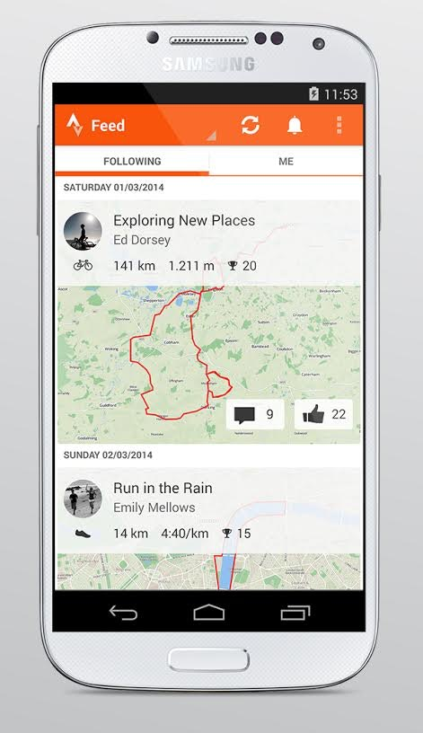 Strava, riding, route, map, training (Pic: Strava)