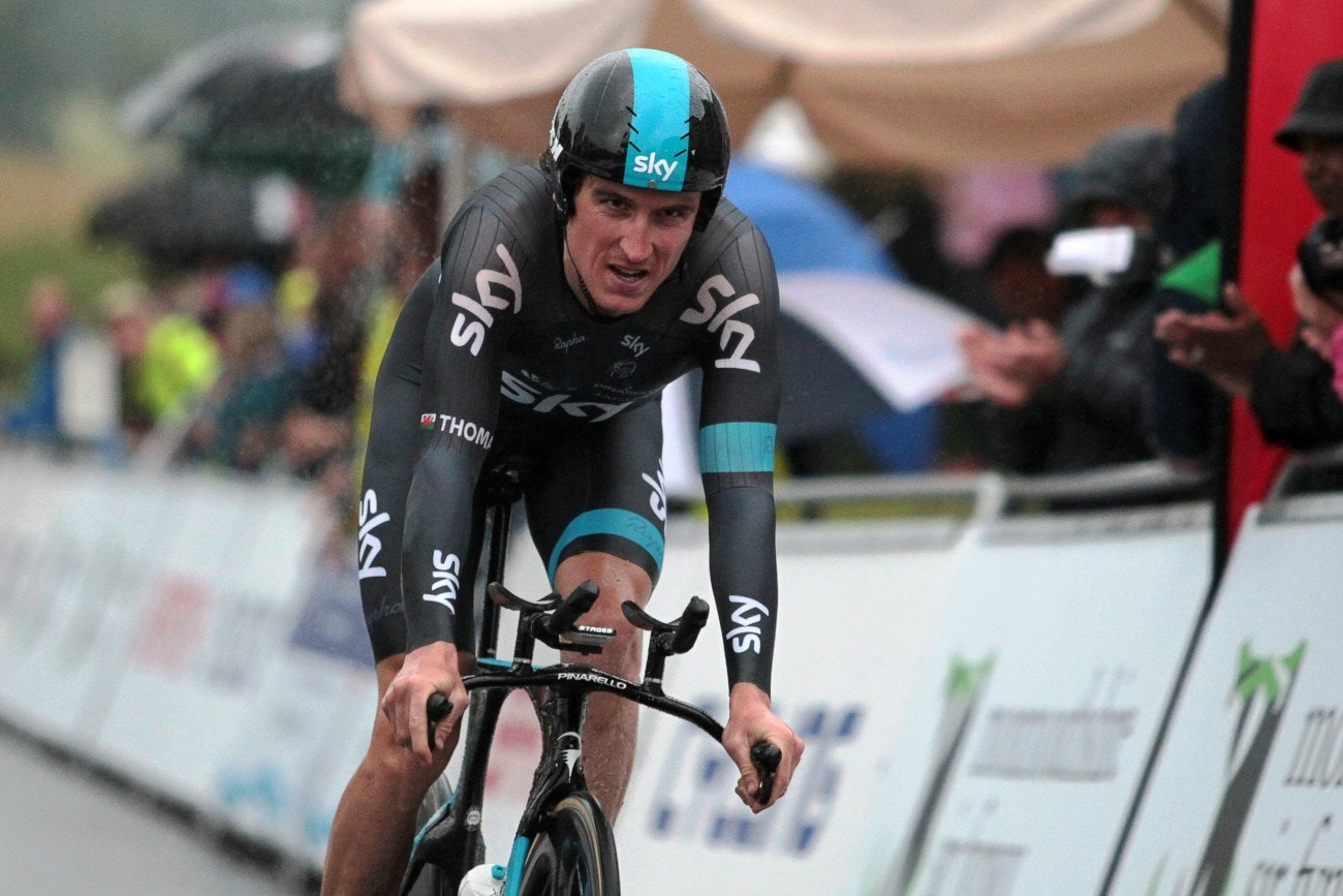 Geraint Thomas, Team Sky, 2014, pic: Huw Evans Picture Agency