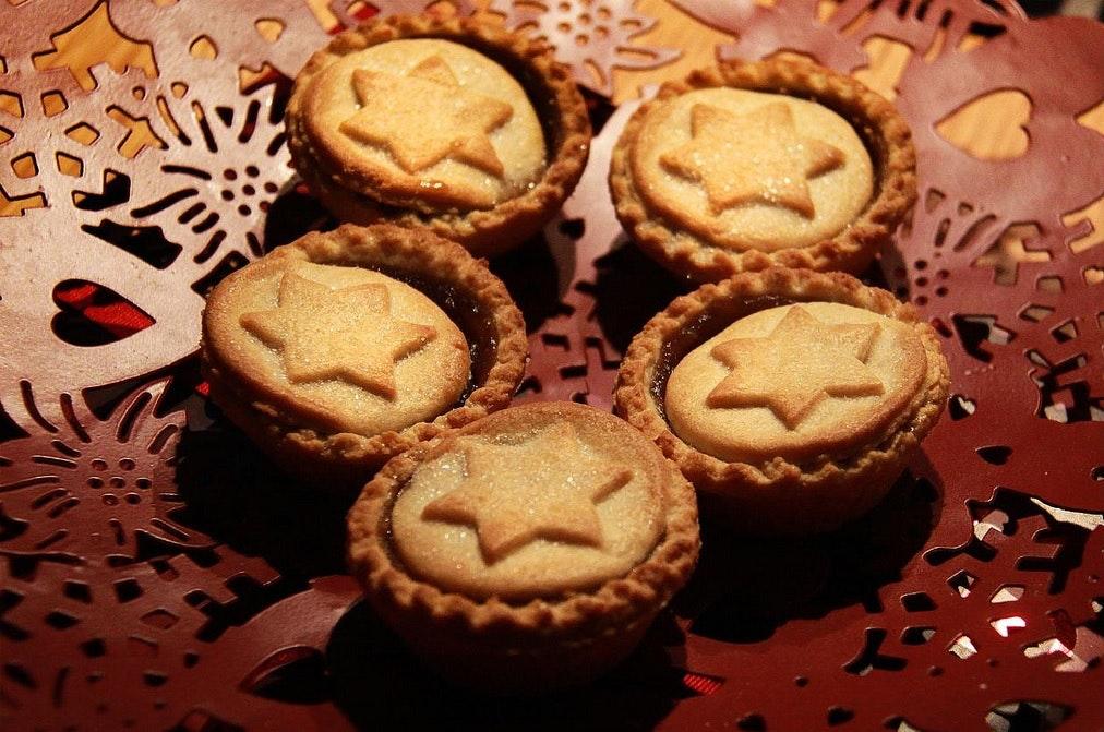 Mince pies, Christmas, food