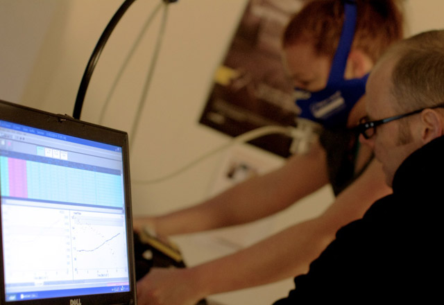 VO2 Max fitness test, Aoife Glass