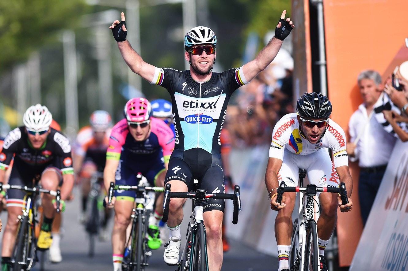 Mark Cavendish, Etixx-QuickStep, Tour de San Luis, sprint, (pic: Tim de Waele/OPQS)