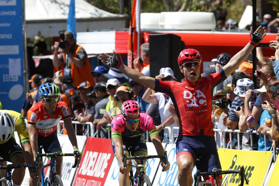 Wouter Wippert, Drapac, 2015, Tour Down Under, pic: Tour Down Under