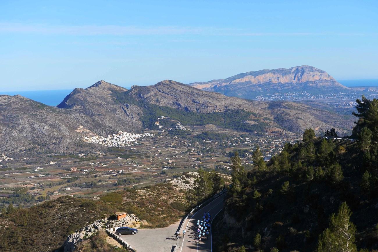 Etixx-QuickStep, Oliva, training, group ride, landscape, pic: Tim de Waele/EQS