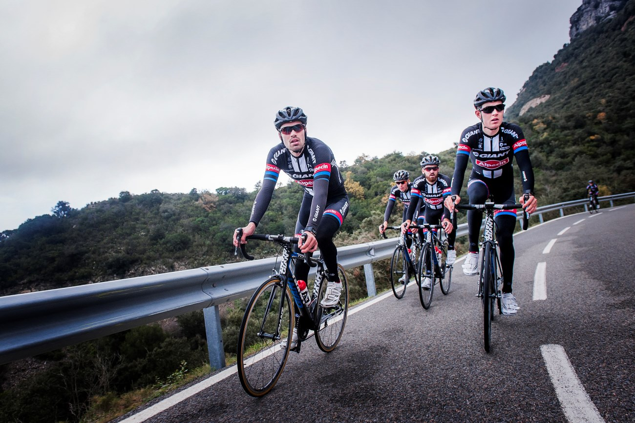 Giant Alpecin, group ride, training, Cambrils, pic: Giant-Alpecin