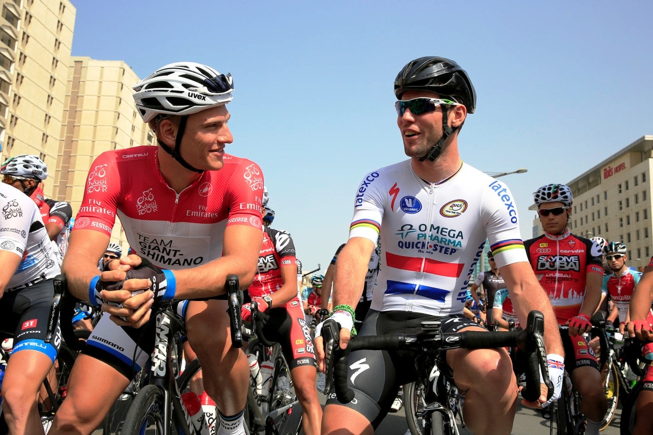Marcel Kittel, Mark Cavendish, pic: Bruno Bade/ASO