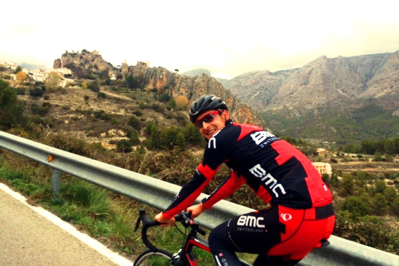 Marcus Burghardt, BMC Racing, training, climb, recovery, pic: Philippe Gilbert, via BMC Racing