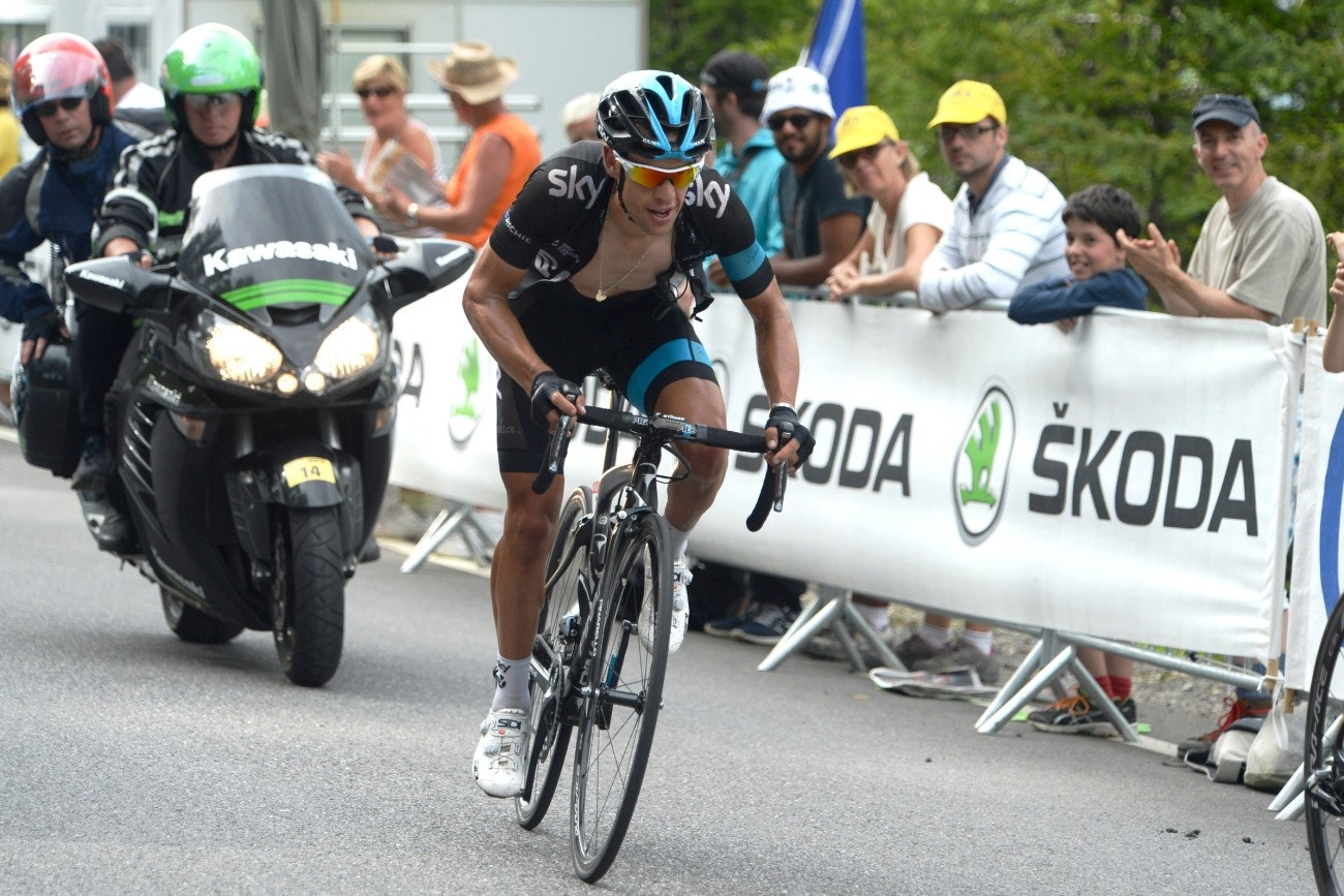 Richie Porte, Team Sky, Tour de France, 2014, pic: Sirotti