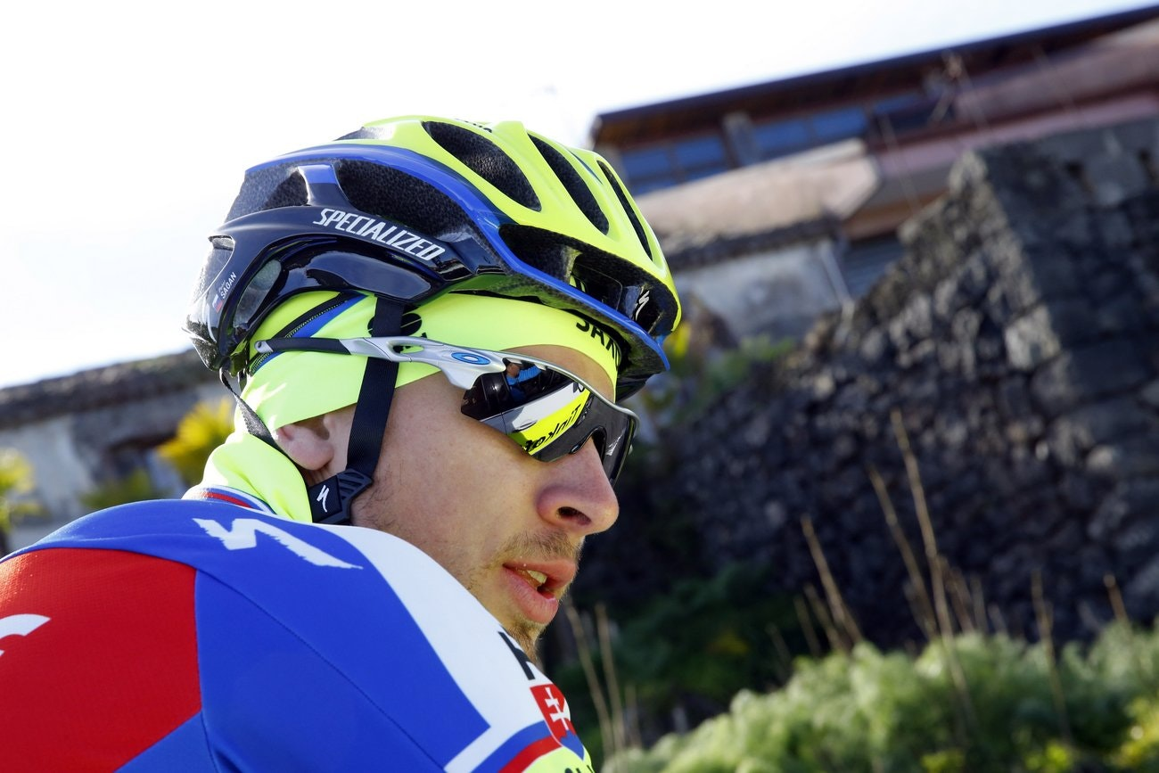 Tinkoff-Saxo, training camp, Sicily, kit, Sportful, Peter Sagan (Pic: Luca Bettini)