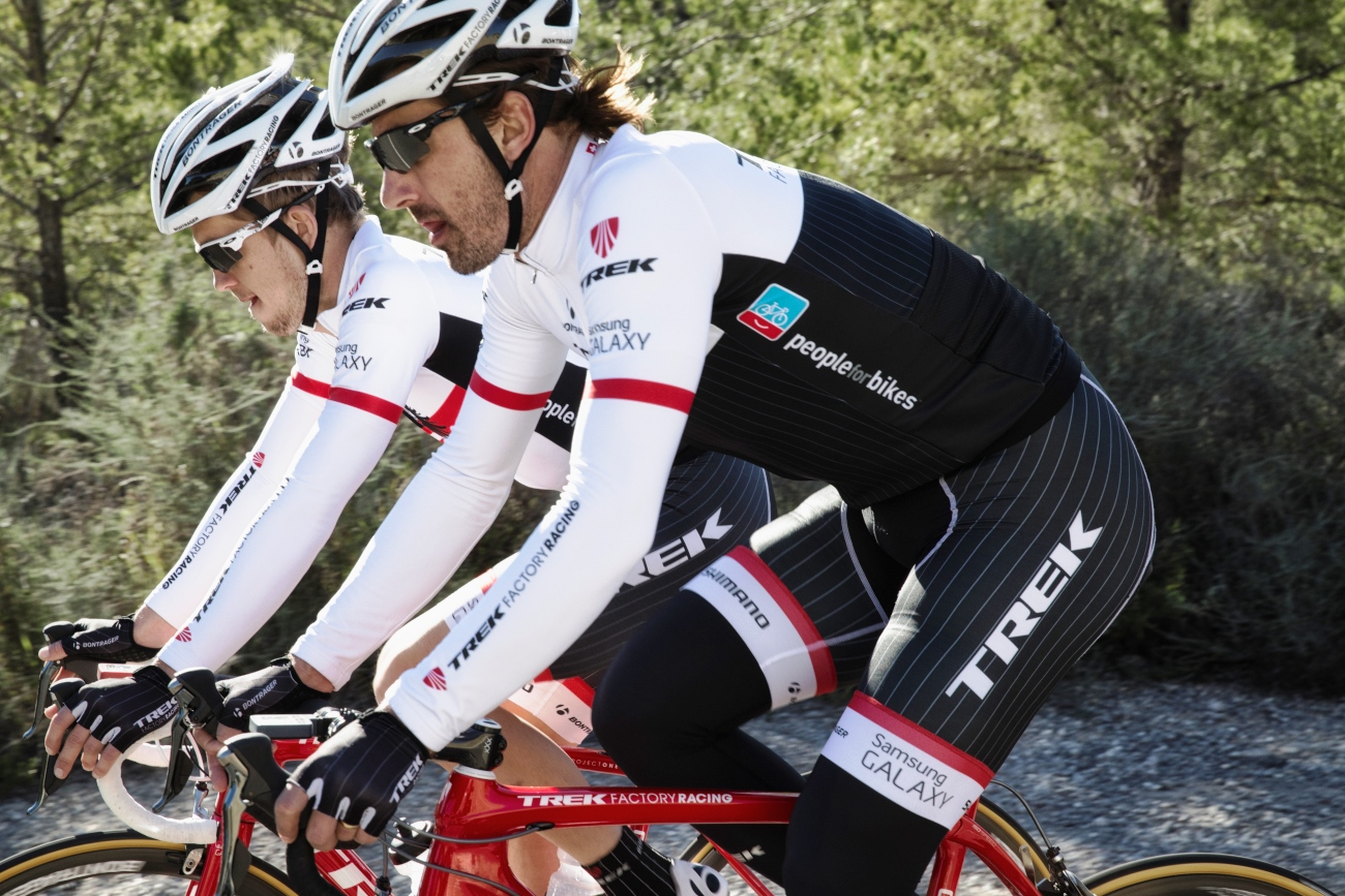 Trek Factory Racing, training, base miles, group ride, camp, Fabian Cancellara