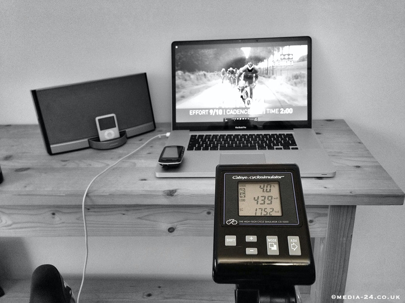 Virtual_Reality, sufferfest, video, trainer, pic: Mike Cotty/Media-24